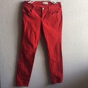 Old Navy corduroy skinny jeans size 12